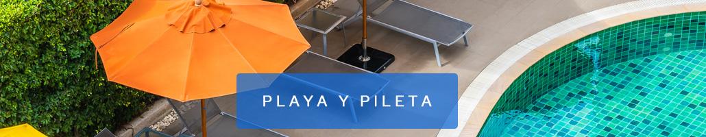 Playa y Pileta