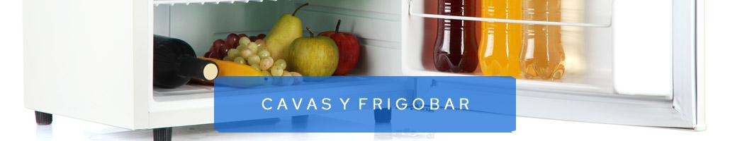 Cavas y frigobar